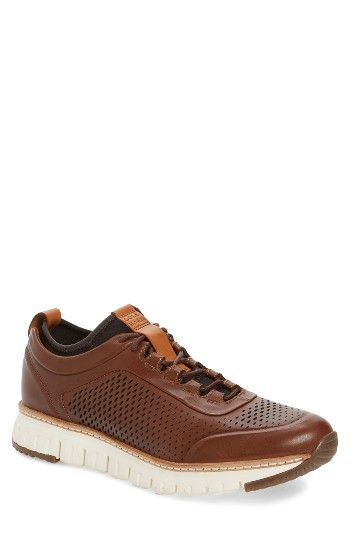 Free shipping and returns on Cole Haan ZeroGrand Sneaker (Men) at Nordstrom.com. Wingtip-inspired styling defines a head-turning sneaker built with Grand.OS tech in the sole for exceptional support and comfort.