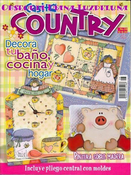 revistas de country pintura decorativa arte pintura varios libros lminas decoupage animales compartir