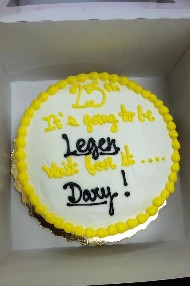 Haaave..You Met Tim? BIRTHDAY CAKE