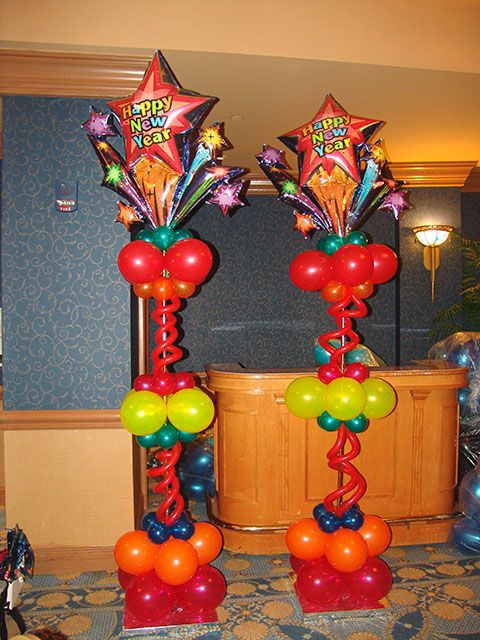 fun and colorful. great idea. I want to this for my daughter entry to her sweet sixteen except with balloons in her color choices.