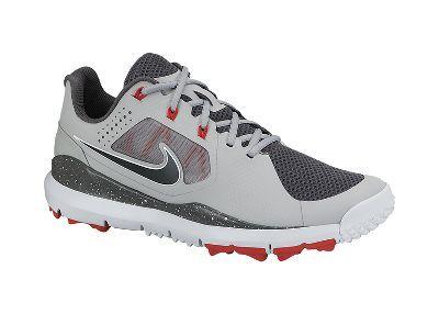 Nike TW '14 Mesh Men's Golf Shoe - Gray - size 10.5