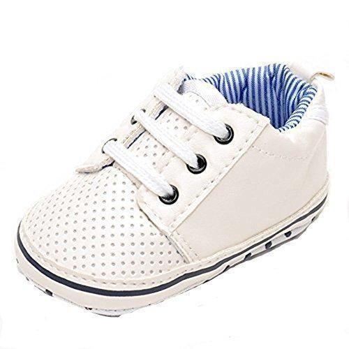 Oferta: 11.25€. Comprar Ofertas de estamico Baby Boy zapatillas de tenis, color blanco, color Blanco, talla 6 - 12 meses barato. ¡Mira las ofertas!