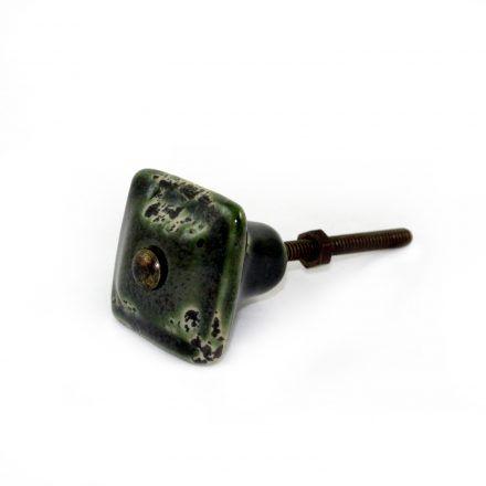 puxador verde envelhecido