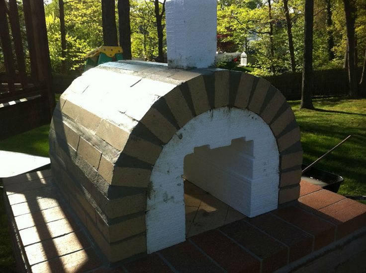 Firebrick Pizza Oven - First Layer