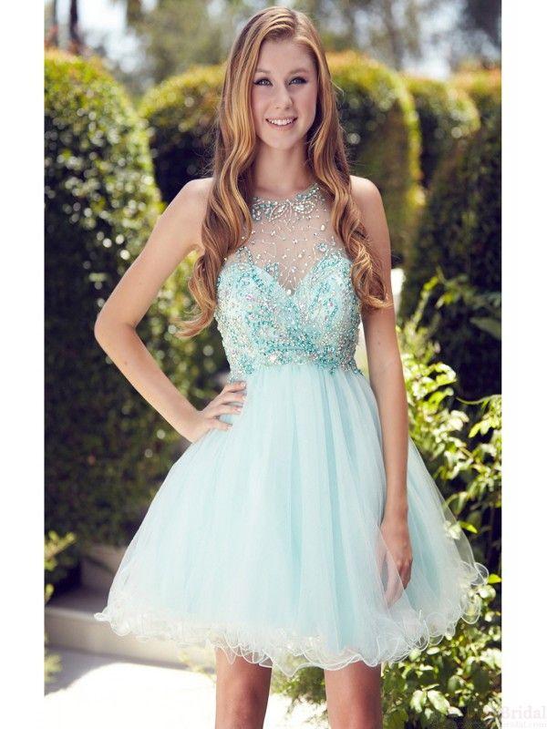 d9308609c96 Top Rating Fantastic Beading Organza Knee Length Homecoming Dresses Short  Prom…