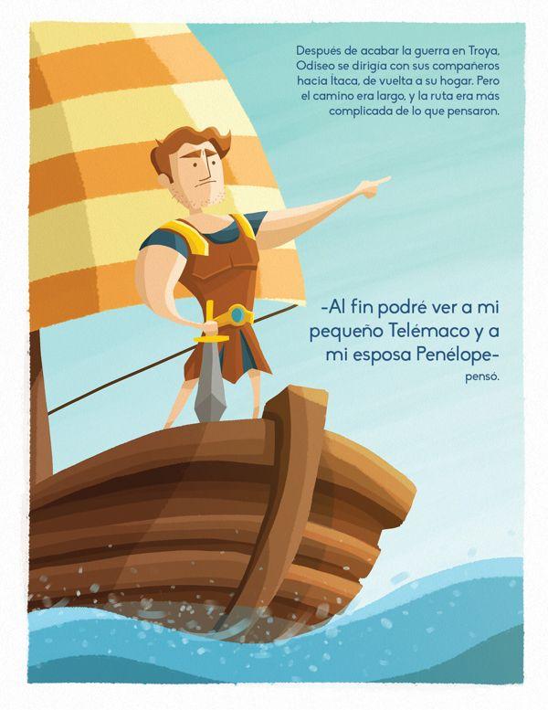 La Odisea on Behance
