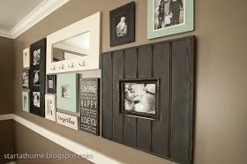 Start at Home: Picture Wall!!