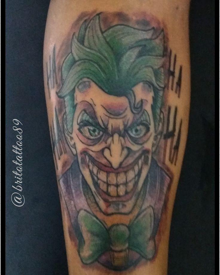 Tattoo coringa Studio89 em 2020 Coringa