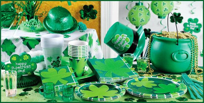St. Patrick's Day Centerpieces | Montreal St-Patrick's Day Party