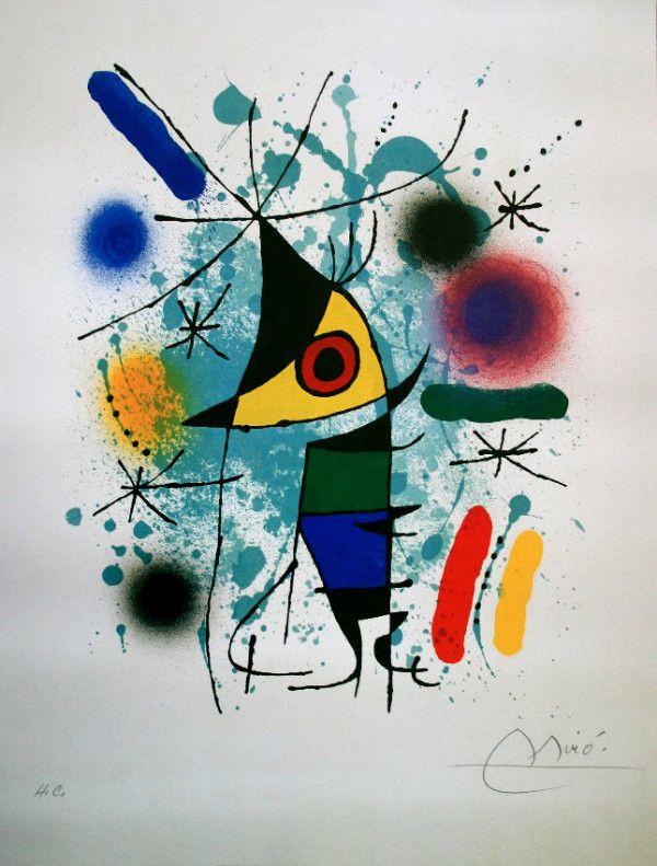 Joan Miró, El Pez Cantante.