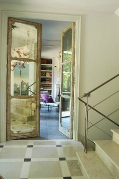 17 best images about puertas on pinterest gray antigua and painted doors - Puertas de espejo ...