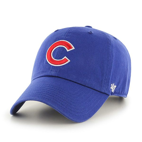 chicago cubs clean up royal 47 brand adjustable hat