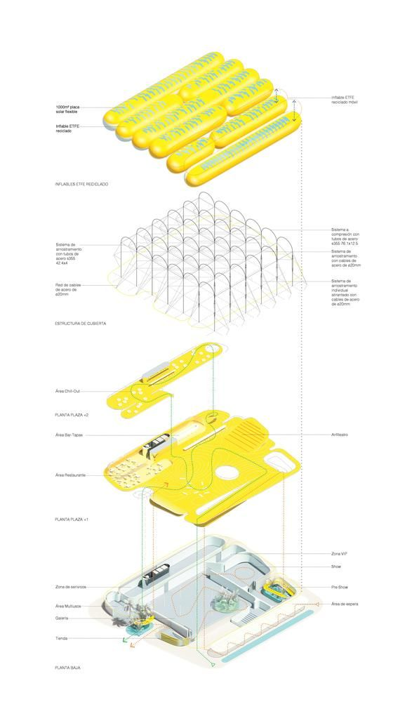 Gallery of Selgascano + FRPO Design Inflatable Canopy for Spain's EXPO 2020 National Pavilion – 20