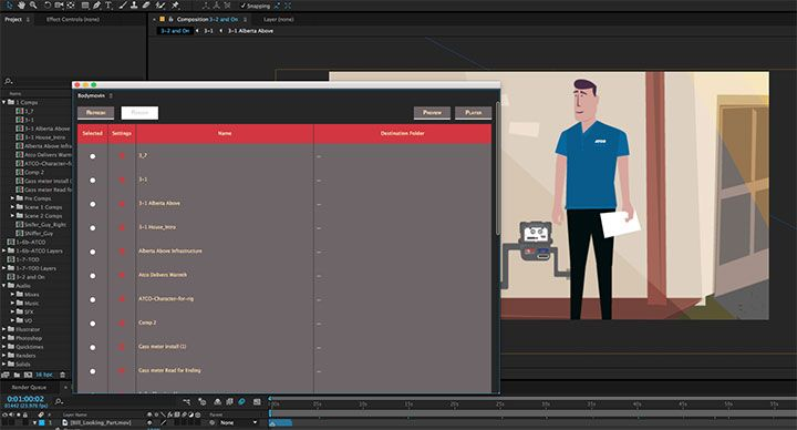 BodyMovin Exports Your After Effects Animations to HTML5 - Lesterbanks