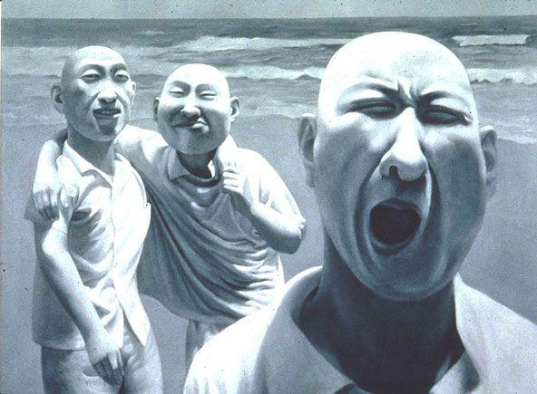 Fang Lijun El movimiento del Realismo Cínico chino - Cultura Colectiva