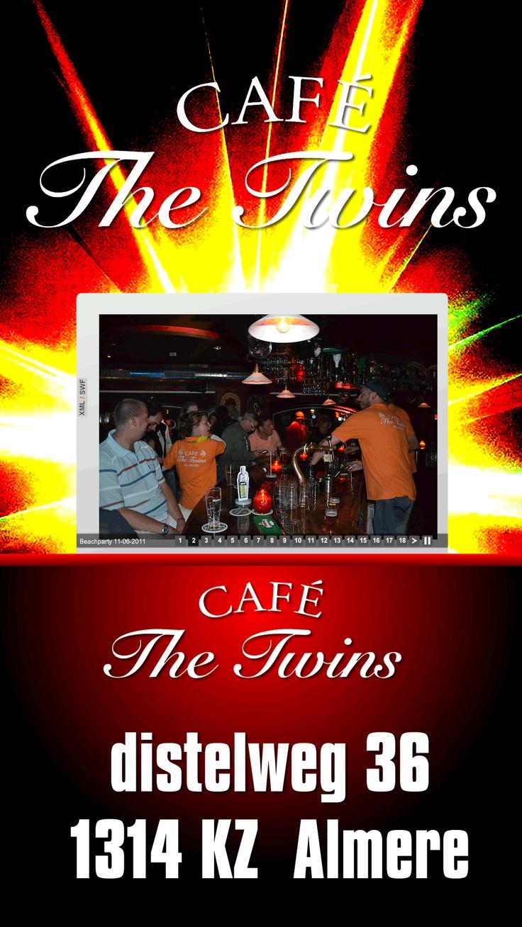Cafe The Twins, distelweg 36, 1314 KZ #Almere