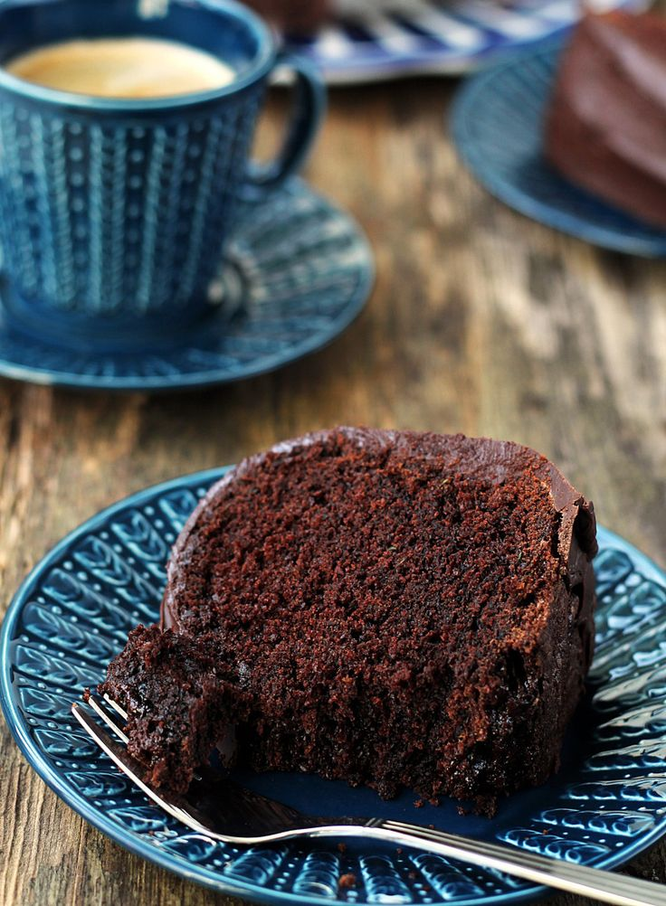 chocolate zucchini cake with fudge frosting