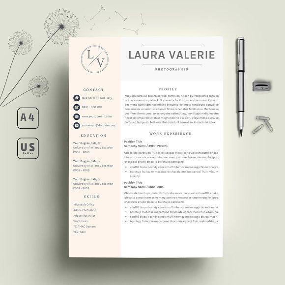 2 Page Resume CV @creativework247