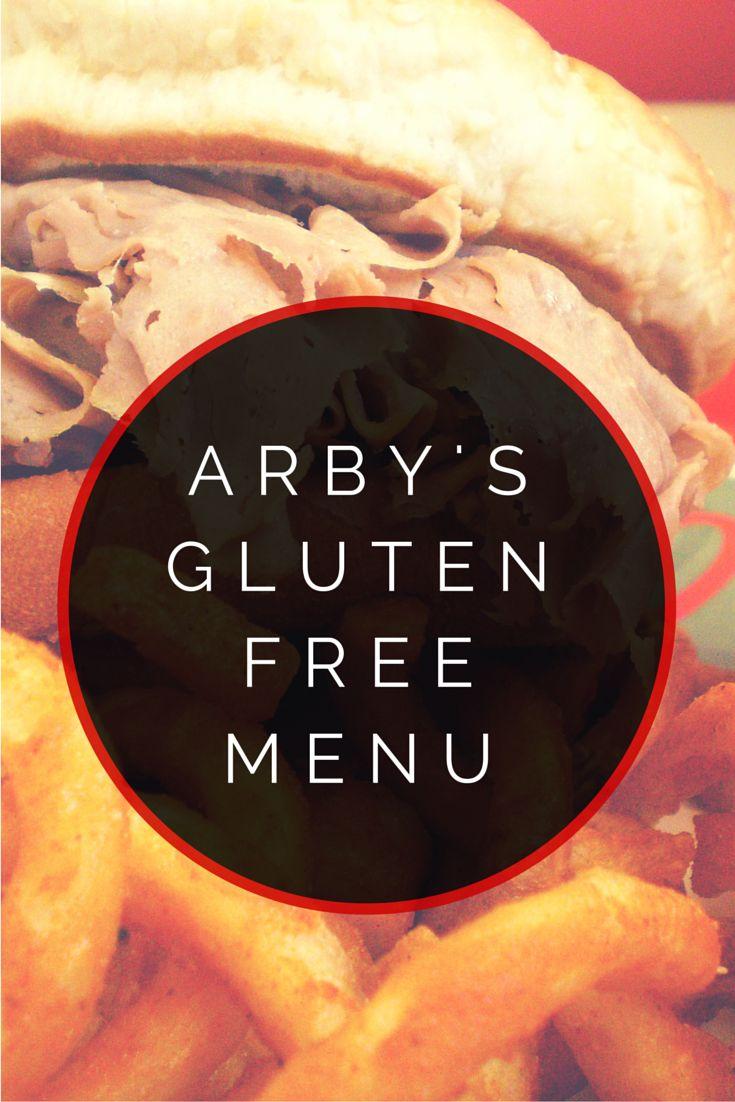 Arby's Gluten Free Menu #glutenfree