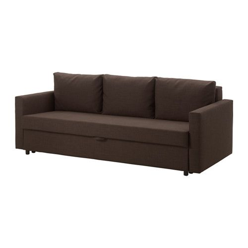 FRIHETEN 3sz kinyitható kanapé - Skiftebo barna - IKEA