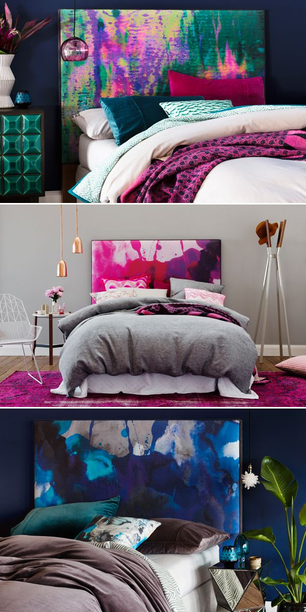 MEXSII BEDHEADS GALA Winner 2015   Furniture  #bedroom #furnitue #watercolour #gala