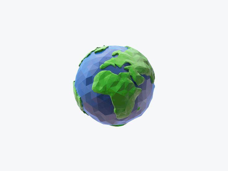 Earth Gif by Vyacheslav Alkin