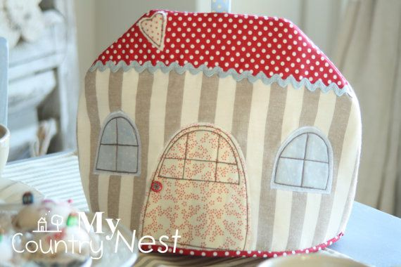 PDF pattern: house tea cosy Pattern tea cosy by Mycountrynest