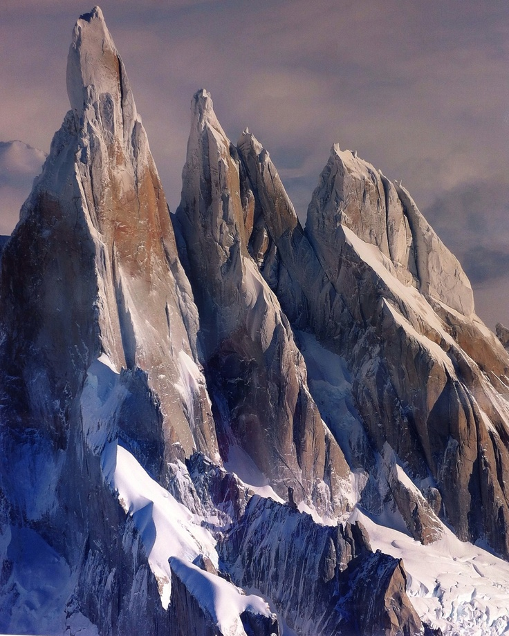 Cerro Torre (in the Andes. It's known locally as the finger.)