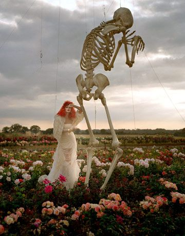 Tim Burton by Tim Walker.