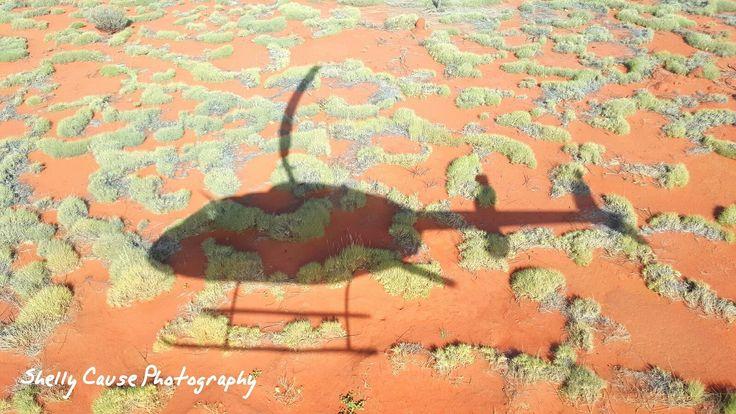 Chopper Ride to Uluru NT