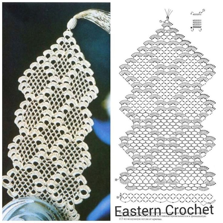 Camino De Mesa A Crochet Moderno - Diseño De Interiores - Agreco.net