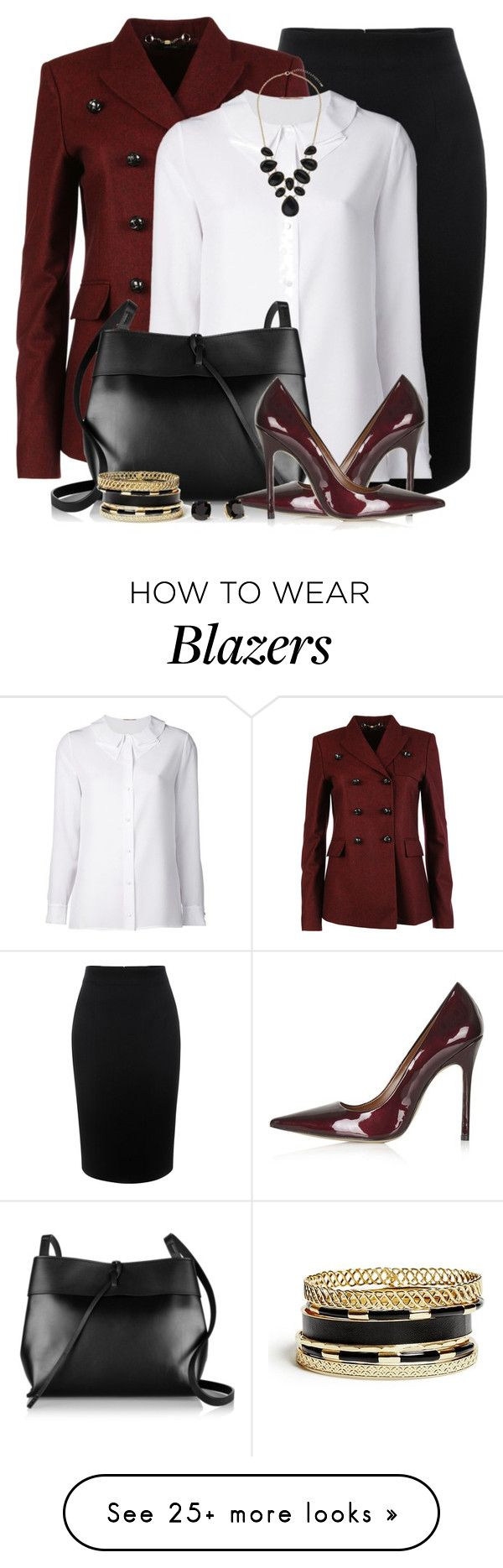 """""""Office Ready"""" by brendariley-1 on Polyvore featuring Alexander McQueen, Gucci, Yves Saint Laurent, Kara, Topshop, GUESS, Kate Spade and Dorothy Perkins"""