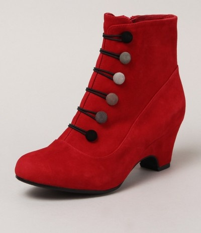 Tutti Red button boots....oh maybe in blue