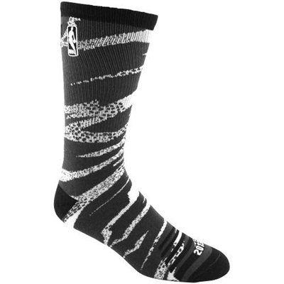 NBA 2013 All-Star Camo Bright Crew Socks - White/Black
