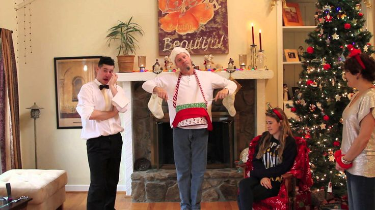 Our Family Christmas Card Video | Parody Justin Bieber's Drummer Boy