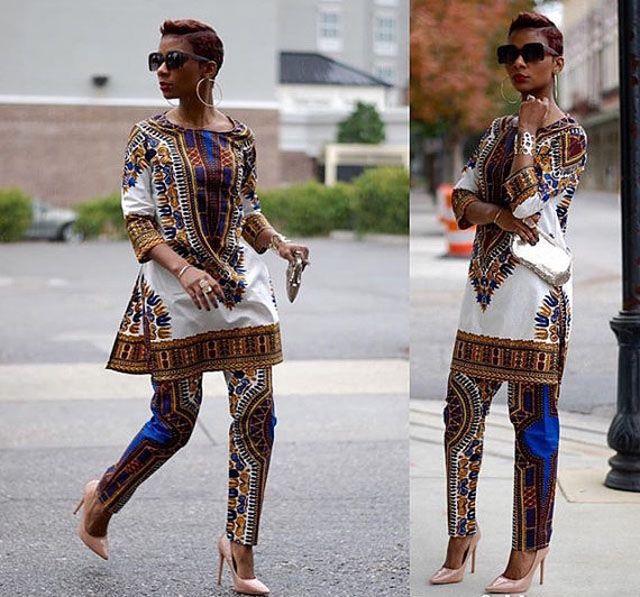 Dashiki dresses and skirts  ~Latest African fashion, Ankara, kitenge, African women dresses, African prints, African men's fashion, Nigerian style, Ghanaian fashion ~DKK