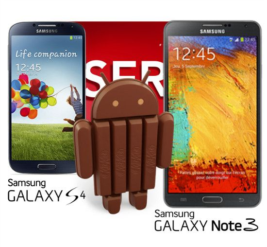KitKat Update For Galaxy S4 & Note 3 Release Late January – Early February 2014 (Rumor)