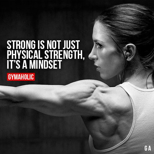 Strong Is Not Just Physical Strength