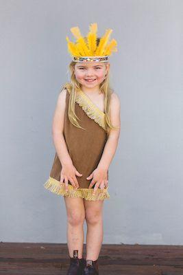 Native American Indian Girl Costume | Dress Ups Kids