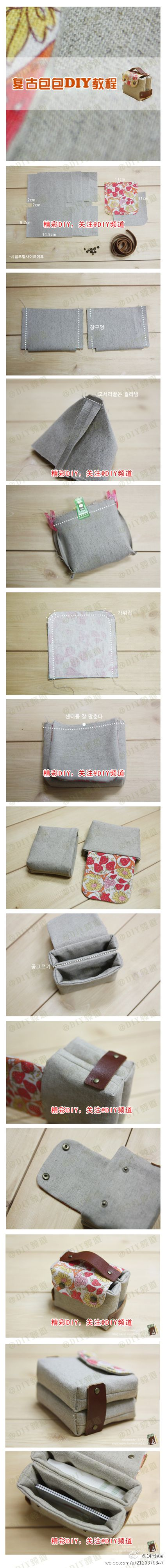 clever simple bag make