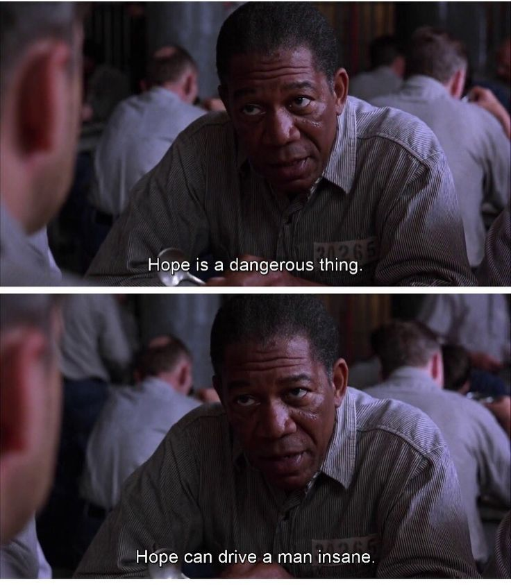 Hope in the shawshank redemption