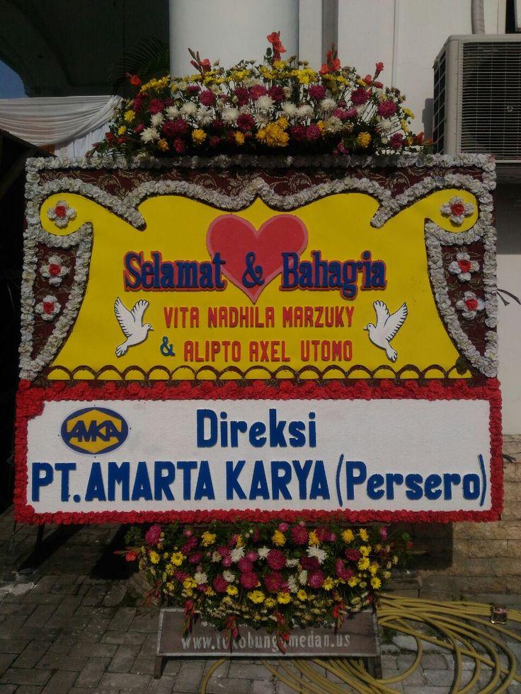 Karangan Bunga di Griya Benn JL.T.Amir Hamzah Medan