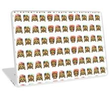 Monkey Emoji Laptop Skin