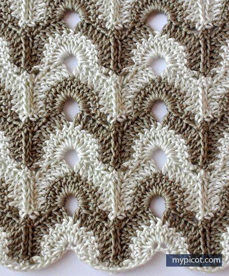 Learn A New Stitch: Multicolor Crochet Stitch