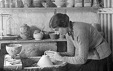 Ursula Mommens at work.jpg
