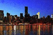 """New artwork for sale! - """" New York City Night Lights by PixBreak Art """" - http://ift.tt/2vm3SiH"""