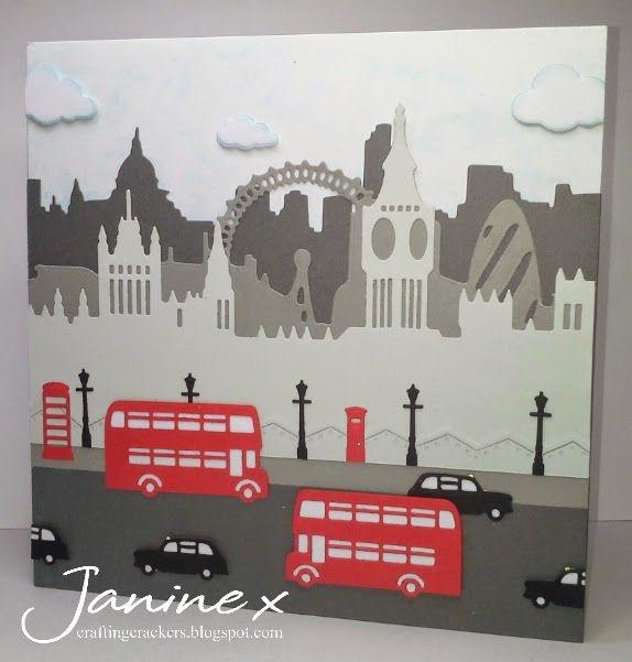 Xcut Build A Scene - London. http://craftingcrackers.blogspot.co.uk/