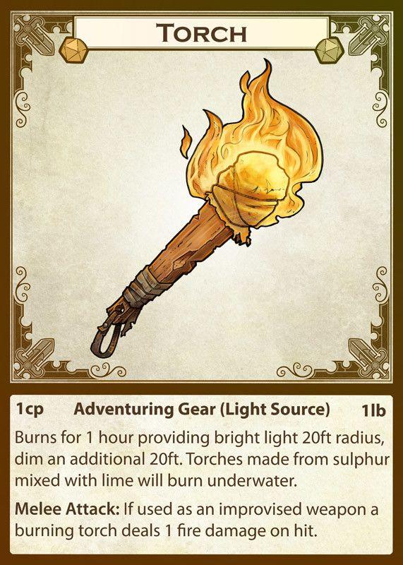 ArtStation - Equipment Cards: Light sources, Michael