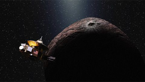 A small body known as 2014 MU69, found by the Hubble Space Telescope barely a year ago, will be the next destination for NASA's New Horizons spacecraft.