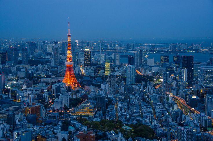Tokyo skyline by César Asensio on 500px
